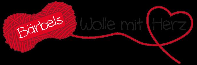 Logo for Bärbels Wolle mit Herz